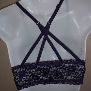 Purple Lace Bralette